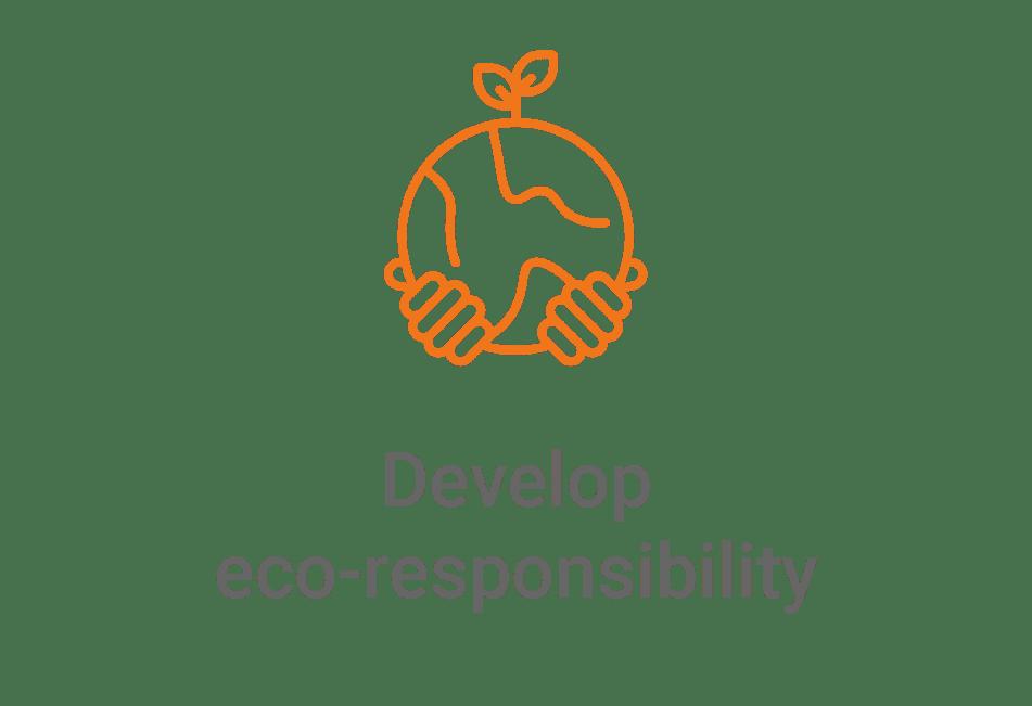 develop eco responsability
