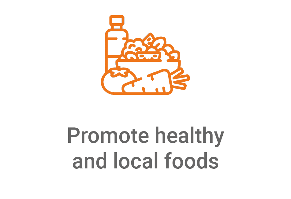 vireo promote healthy food