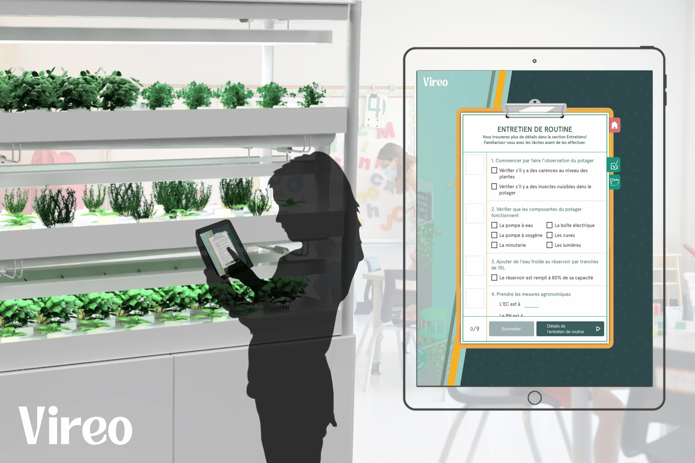 Plateforme numérique projet école Vireo